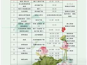 2019年台儿庄古城常态演出时间表