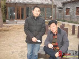 """""""台儿庄,已是战前模样""""——著名作家刘玉堂在台儿庄"""