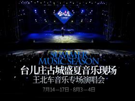 大家好,我是王北车,这个夏天,我在台儿庄古城音乐现场等你们!