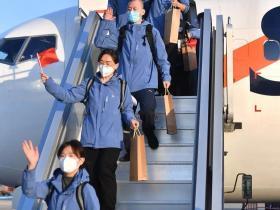 胜利归来,我市第三批援鄂医疗队员已回到济南集中修养