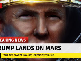 特朗普大手一挥:给NASA近200亿美元,让他们载人去火星!
