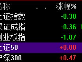 """创业板再度跳水!两日累跌2.8% """"漂亮50""""盘中创新高"""