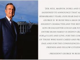 冷战时代终结的见证者:美国第41任总统老布什去世 享年94岁