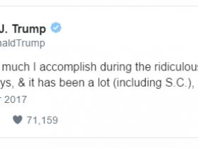 """第一个重要里程碑:盘点特朗普执政百日""""成与败"""""""