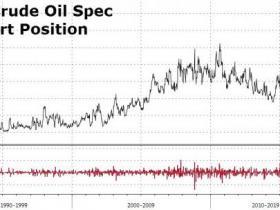 空仓增幅史上次高!油价大跌之际 投机者开足马力反手做空