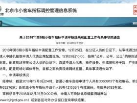 8年等一指标 北京新能源车申请人破42万