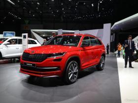 上海车展亮相 斯柯达将推纯电动概念车