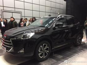 2017年4月上市 江淮瑞风S7实车正式亮相